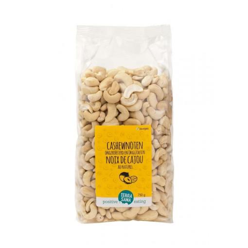 Cashewnoten Ongeroosterd & Ongezouten 750 gram van Terrasana