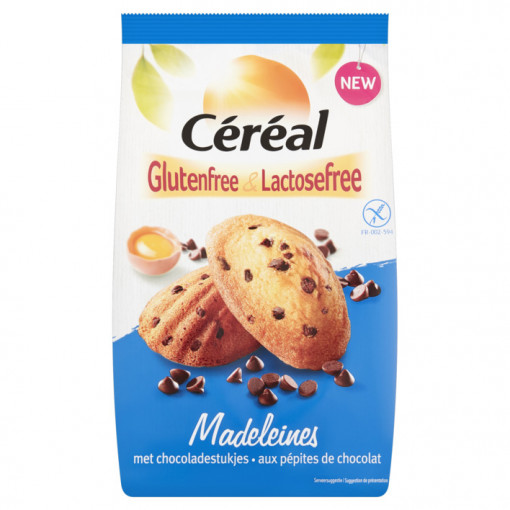 Madeleines met Chocoladestukjes van Céréal