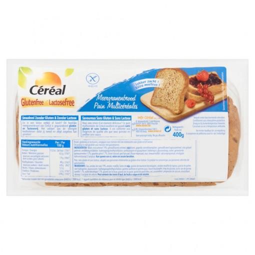Meergranenbrood van Céréal