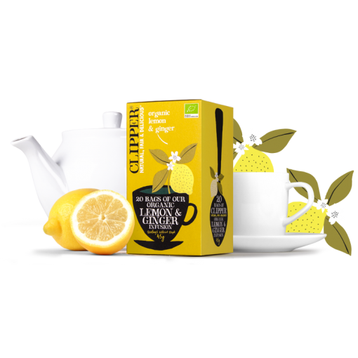 Lemon & Ginger  van Clipper