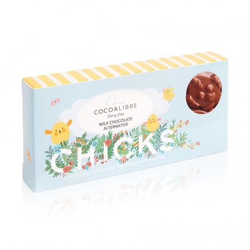 Chocolade Paaskuikentjes Lactosevrij van Cocoa Libre