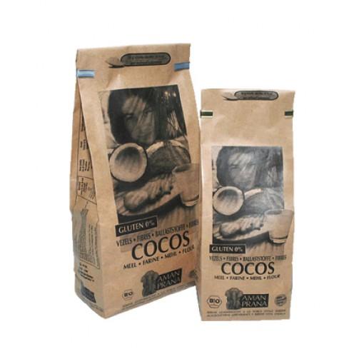 Kokosmeel 1 kilo van Aman Prana