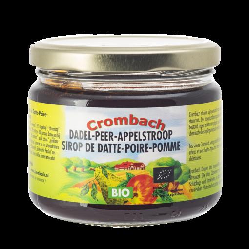 Dadel-Peer-Appelstroop Biologisch van Crombach