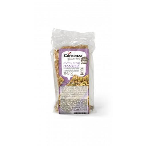 Crackers Kaas Pompoen van Consenza
