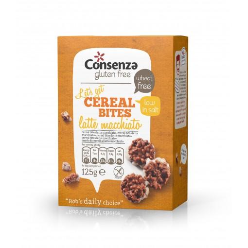 Cereal Bites Latte Macchiato van Consenza