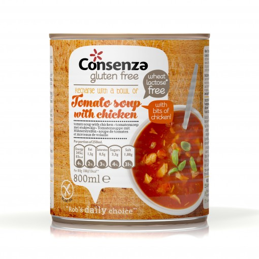 Gevulde Tomatensoep van Consenza