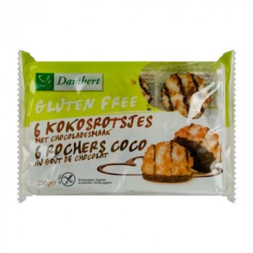 Kokosrotsjes Met Chocolade van Damhert