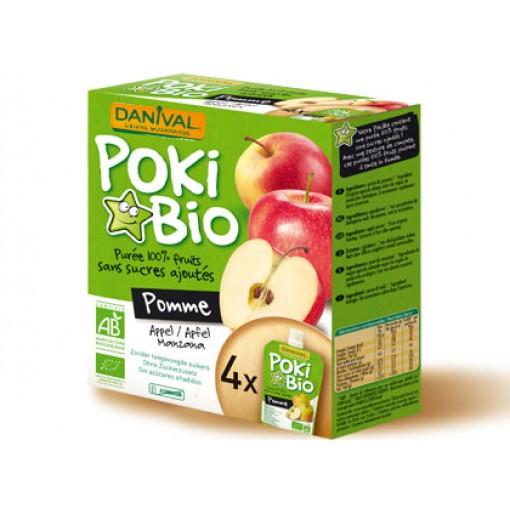 Knijpfruit Poki Bio Appel van Danival