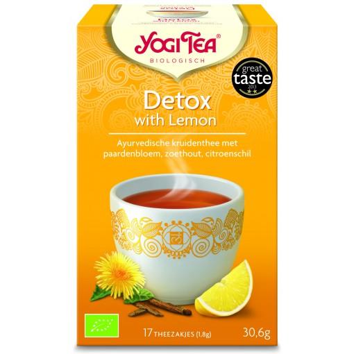 Detox With Lemon van Yogi Tea