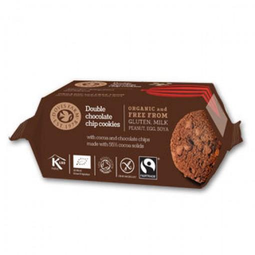 Double Chocolate Cookies van Doves Farm