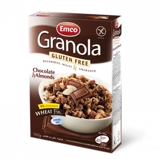 Granola Chocolate & Almonds van Emco
