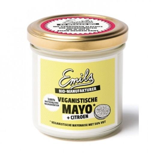 Veganistische Mayo Citroen van Emils