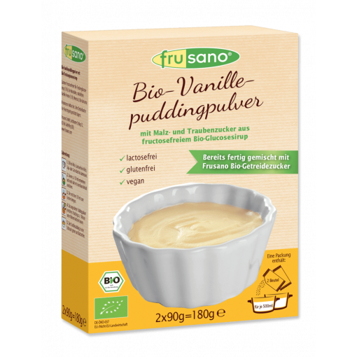 Puddingpoeder Vanille van Frusano