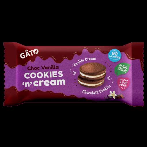 Cookies 'n' Cream Vanilla Cream van Gâto