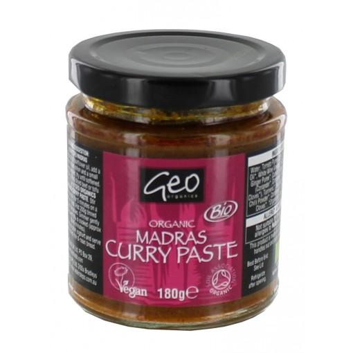 Indian Madras Curry Paste van Geo Organics