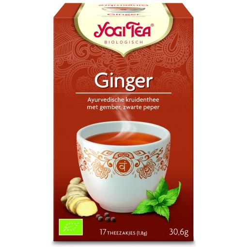 Ginger van Yogi Tea