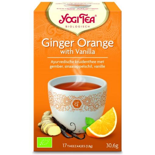 Ginger Orange With Vanilla van Yogi Tea
