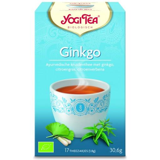 Ginkgo van Yogi Tea