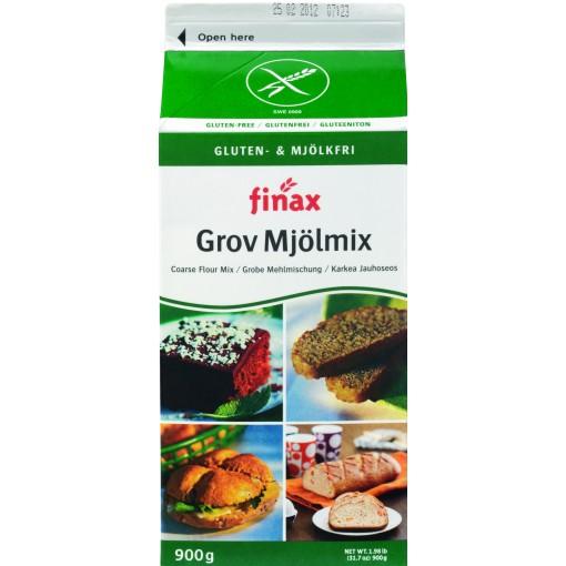 Bruine Bakmix van Finax