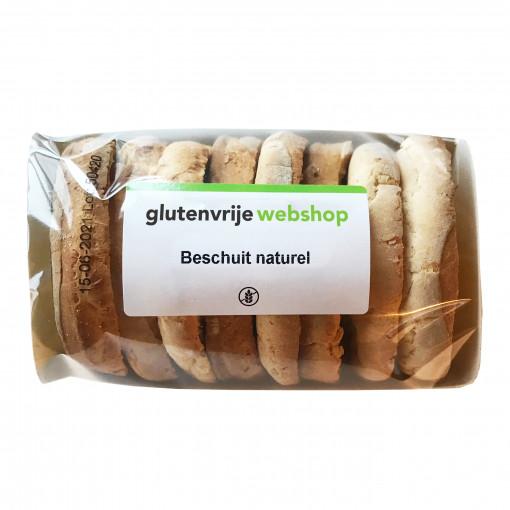 Beschuit Naturel van Glutenvrije Webshop Basics