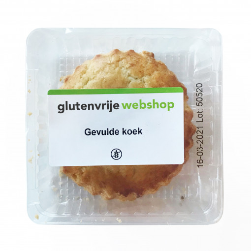 Gevulde Koek van Glutenvrije Webshop Basics