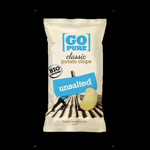 Aardappelchips Ongezouten van GoPure