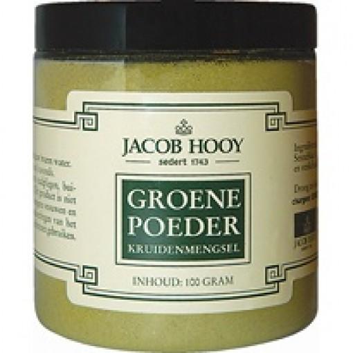 Groene poeder van Jacob Hooy