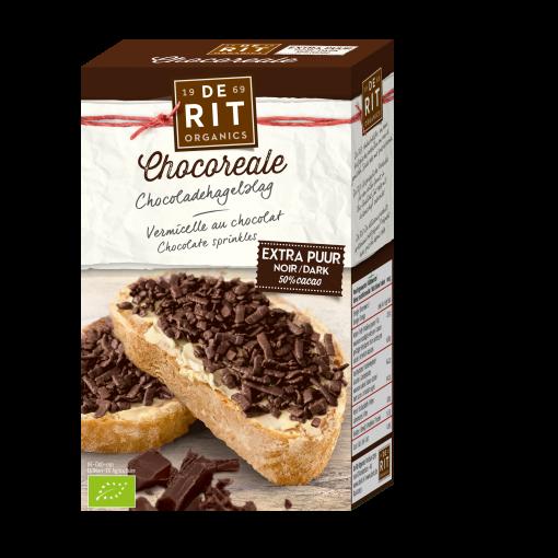 Chocoladehagelslag Extra Puur van De Rit