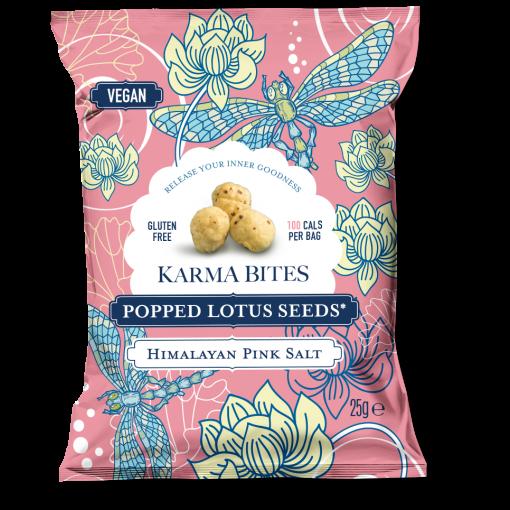 Popped Lotus Seeds Himalayan Pink Salt van Karma Bites