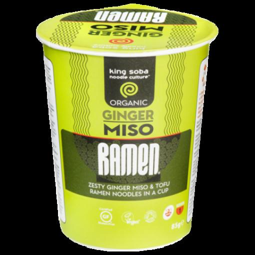 Miso Ramen Ginger (cup) van King Soba