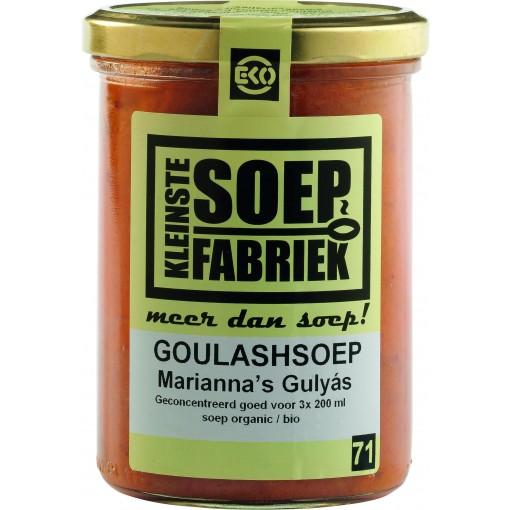 Goulashsoep van Kleinste Soep Fabriek