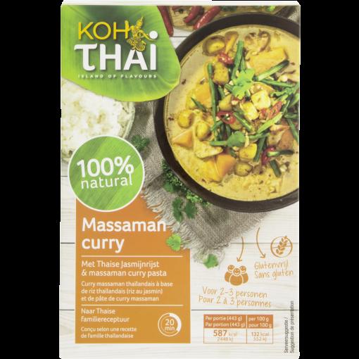 Massaman Curry Maaltijdpakket van Koh Thai