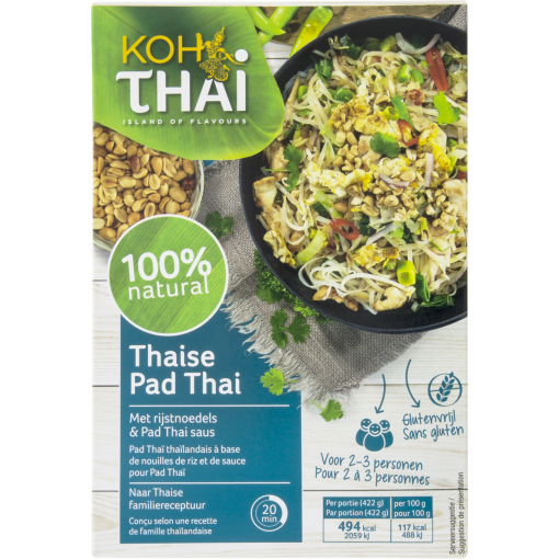 Thaise Pad Thai Maaltijdpakket van Koh Thai