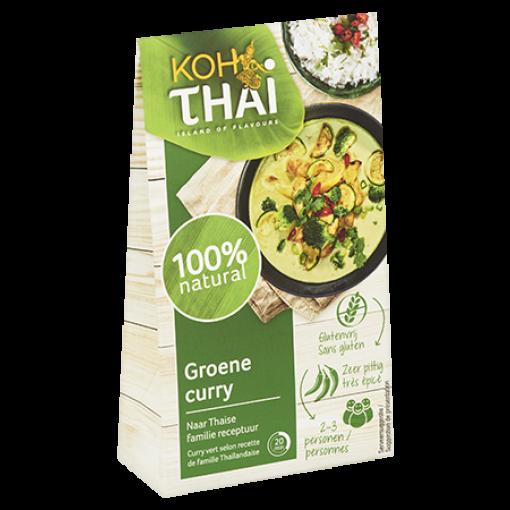 Groene Currypasta (zakje) van Koh Thai