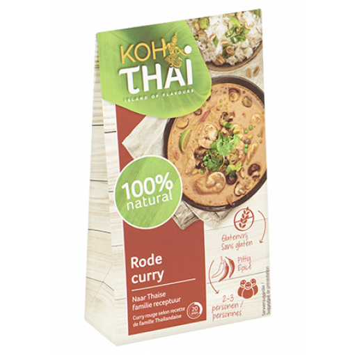 Rode Currypasta (zakje) van Koh Thai
