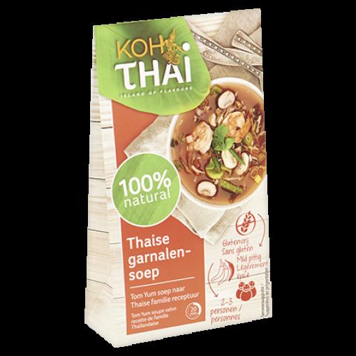 Thaise Garnalensoep (Tom Yum) van Koh Thai