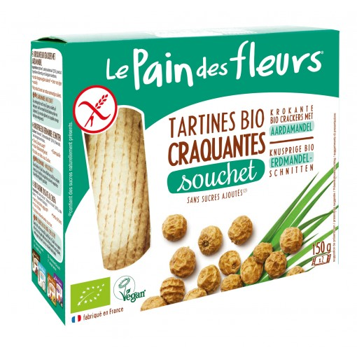 Aardamandel Crackers van Le Pain des Fleurs