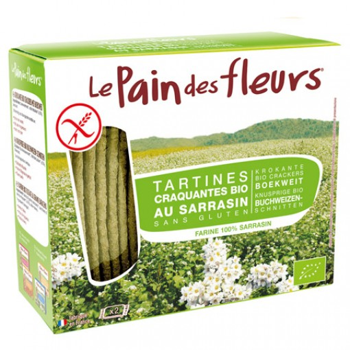 Boekweit Crackers van Le Pain des Fleurs