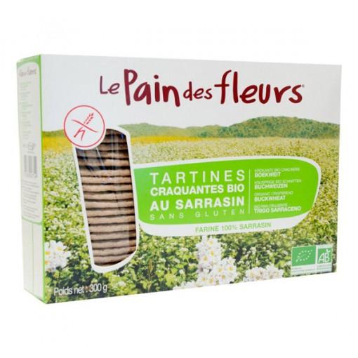 Boekweit Crackers Groot van Le Pain des Fleurs