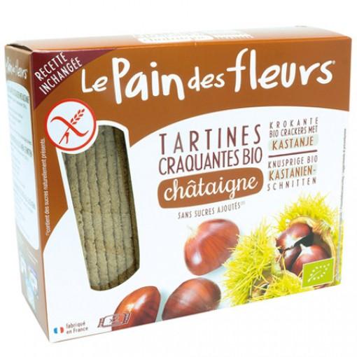 Kastanje Crackers van Le Pain des Fleurs
