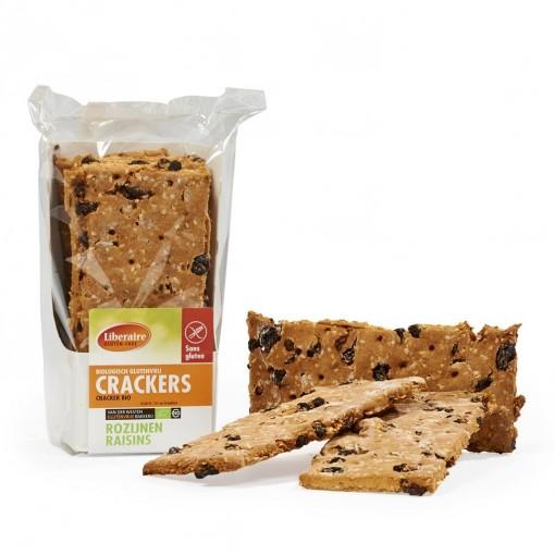 Crackers Rozijnen van Liberaire