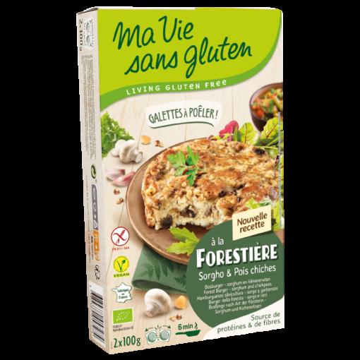 Bosburger Sorghum & Kikkererwten van Ma Vie Sans Gluten