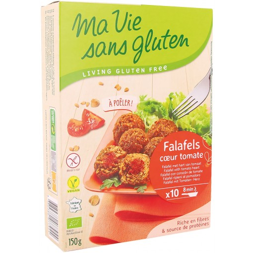 Falafel Met Hart Van Tomaat  van Ma Vie Sans Gluten