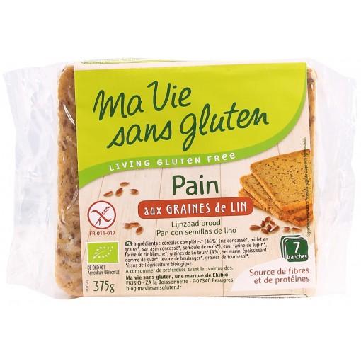Lijnzaad Brood van Ma Vie Sans Gluten