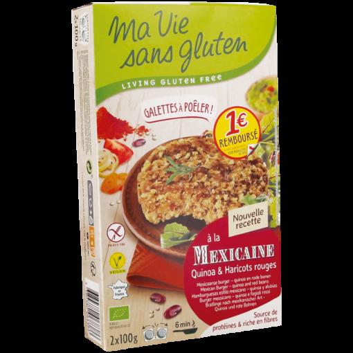 Mexicaanse Burger Quinoa & Rode Bonen van Ma Vie Sans Gluten