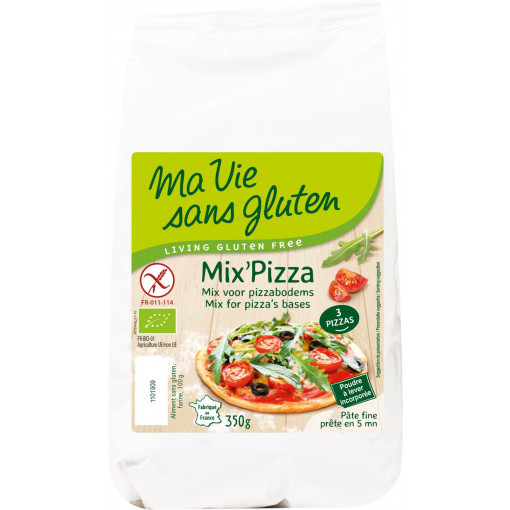 Mix Voor Pizzabodems van Ma Vie Sans Gluten