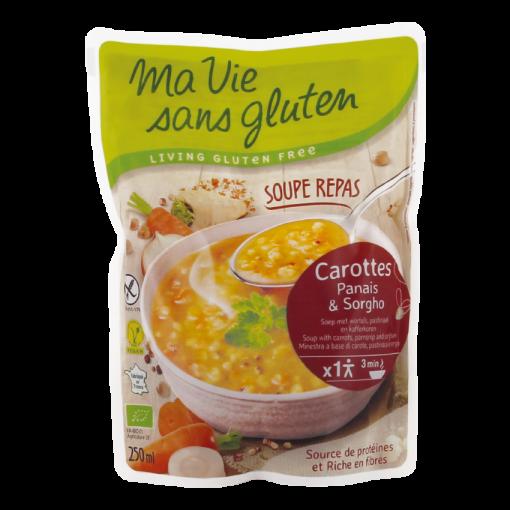 Soep Met Wortels, Pastinaak & Sorghum van Ma Vie Sans Gluten
