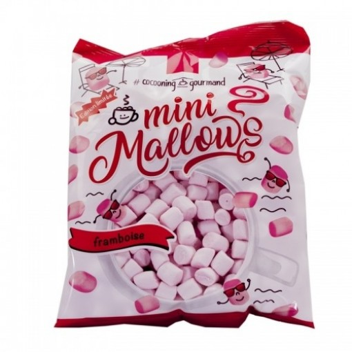 Mini Marshmallows Framboos van Marshmallow Company