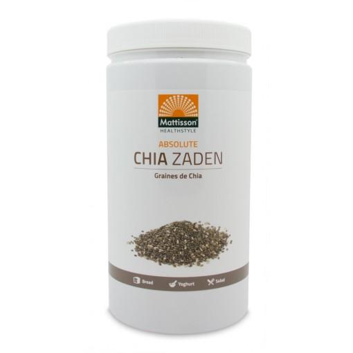 Absolute Chia Zaad Raw 1000 gram van Mattisson