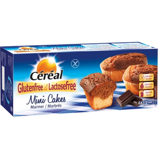 Mini Marmercakes van Céréal